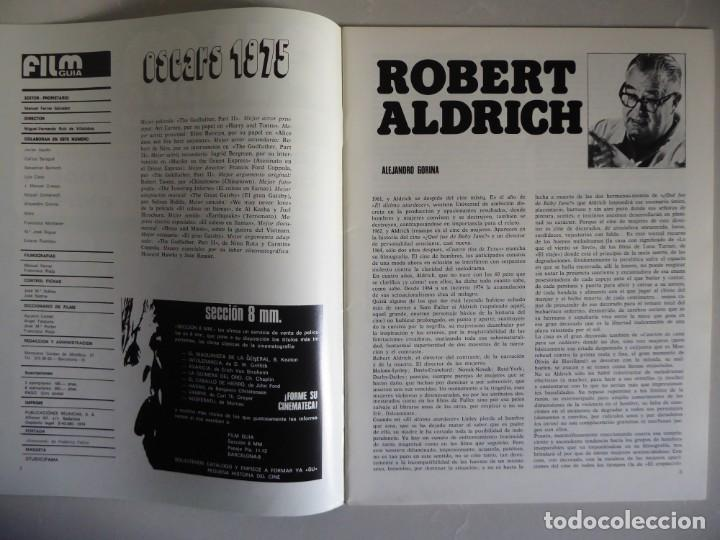 Cine: Lote 12 revistas de cine Film Guía números 1 a 15+Extra (1974-1977) - Faltan 4 (9,10,11 y 13) - Foto 26 - 209780155