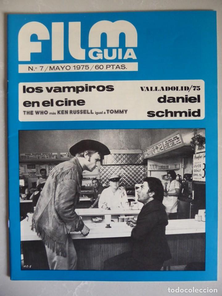 Cine: Lote 12 revistas de cine Film Guía números 1 a 15+Extra (1974-1977) - Faltan 4 (9,10,11 y 13) - Foto 29 - 209780155