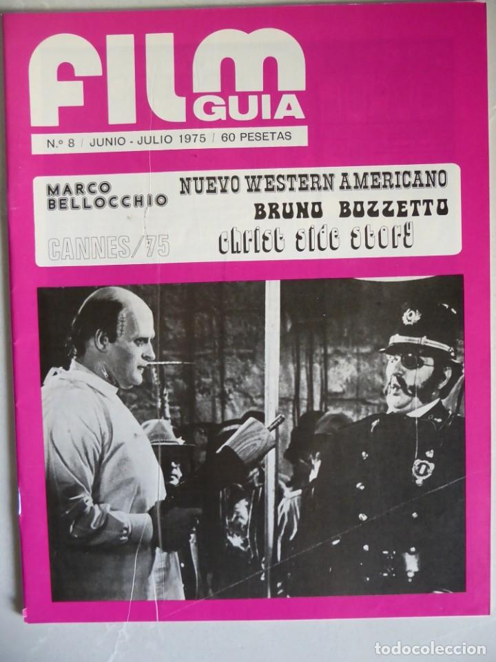Cine: Lote 12 revistas de cine Film Guía números 1 a 15+Extra (1974-1977) - Faltan 4 (9,10,11 y 13) - Foto 32 - 209780155
