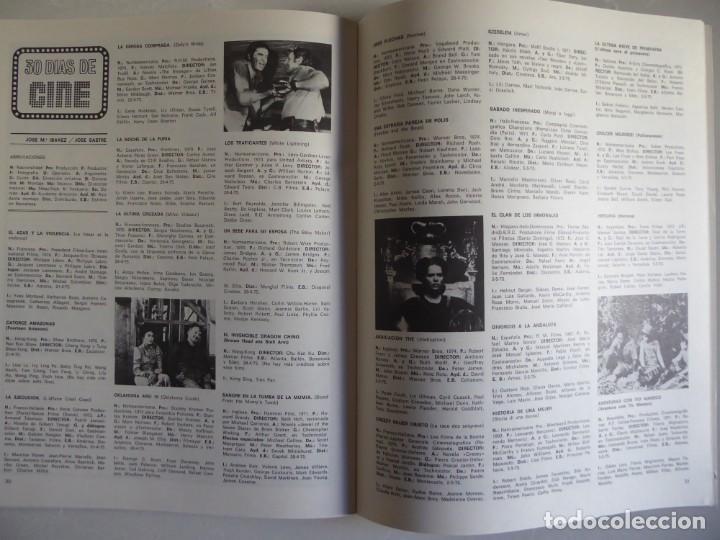Cine: Lote 12 revistas de cine Film Guía números 1 a 15+Extra (1974-1977) - Faltan 4 (9,10,11 y 13) - Foto 36 - 209780155