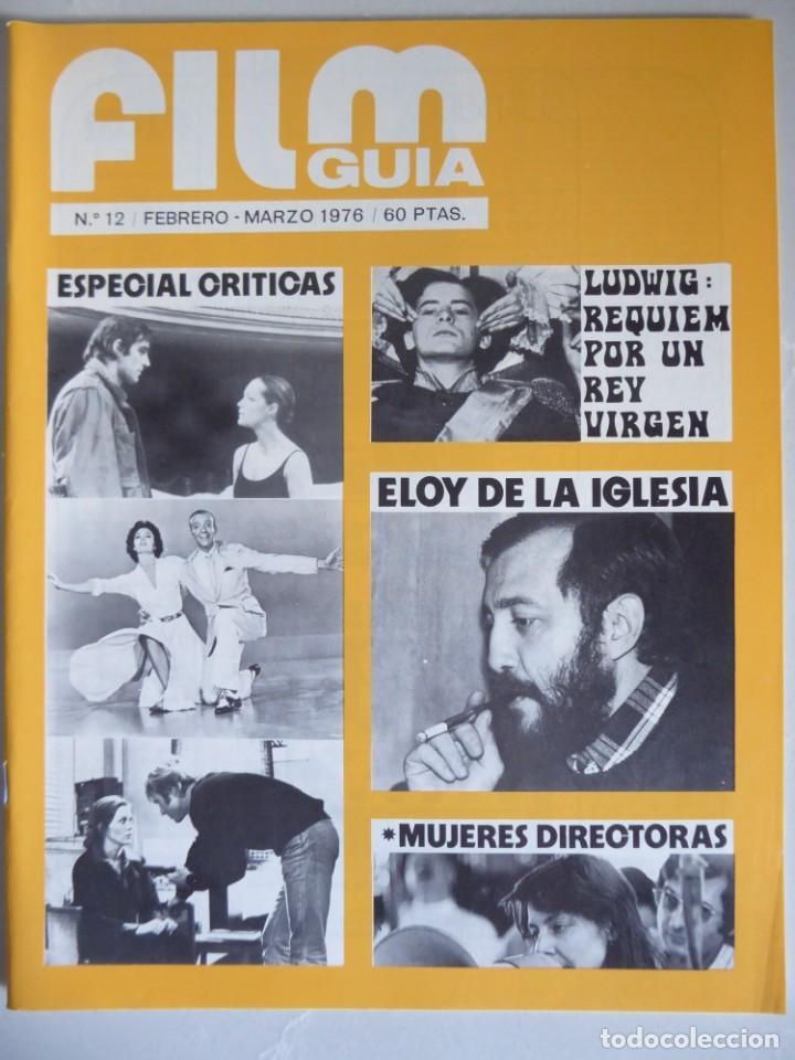 Cine: Lote 12 revistas de cine Film Guía números 1 a 15+Extra (1974-1977) - Faltan 4 (9,10,11 y 13) - Foto 37 - 209780155