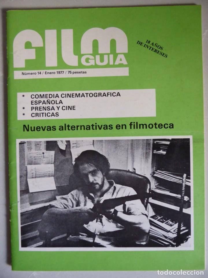 Cine: Lote 12 revistas de cine Film Guía números 1 a 15+Extra (1974-1977) - Faltan 4 (9,10,11 y 13) - Foto 41 - 209780155