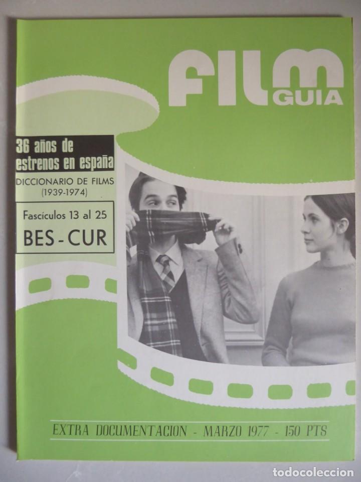 Cine: Lote 12 revistas de cine Film Guía números 1 a 15+Extra (1974-1977) - Faltan 4 (9,10,11 y 13) - Foto 51 - 209780155