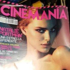 Cine: 'CINEMANÍA', Nº 149. FEBRERO 2008. NATALIE PORTMAN. Lote 209799465