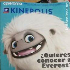 Cine: CINERAMA KINEPOLIS. ¿QUIERES CONOCER A EVEREST?. Lote 209802173