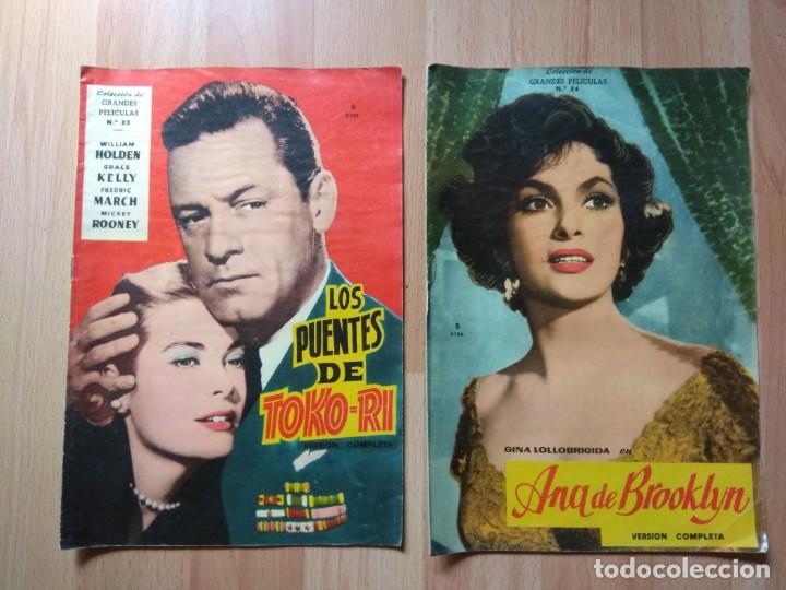 DOS NUMEROS DE LA COLECCION GRANDES PELICULAS (Cine - Revistas - Colección grandes películas)