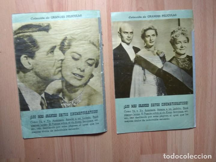 Cine: dos numeros DE LA COLECCION GRANDES PELICULAS - Foto 6 - 209941266