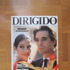 Cine: REVISTA DIRIGIDO POR... Nº134 MARZO DE 1986. Lote 210055806