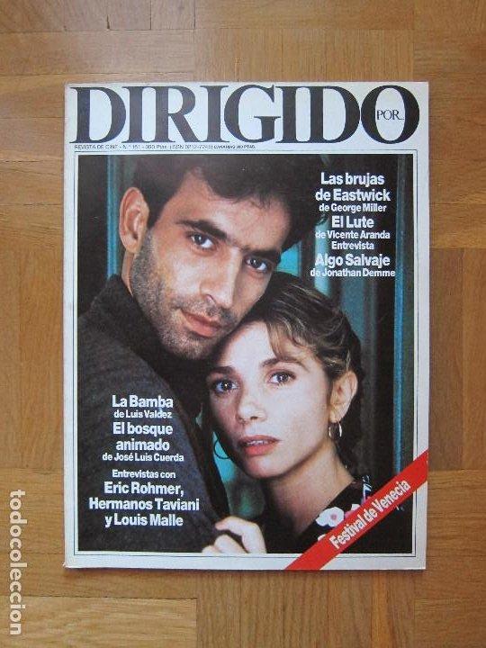 REVISTA DIRIGIDO POR... Nº151 OCTUBRE 1987 (Cine - Revistas - Dirigido por)