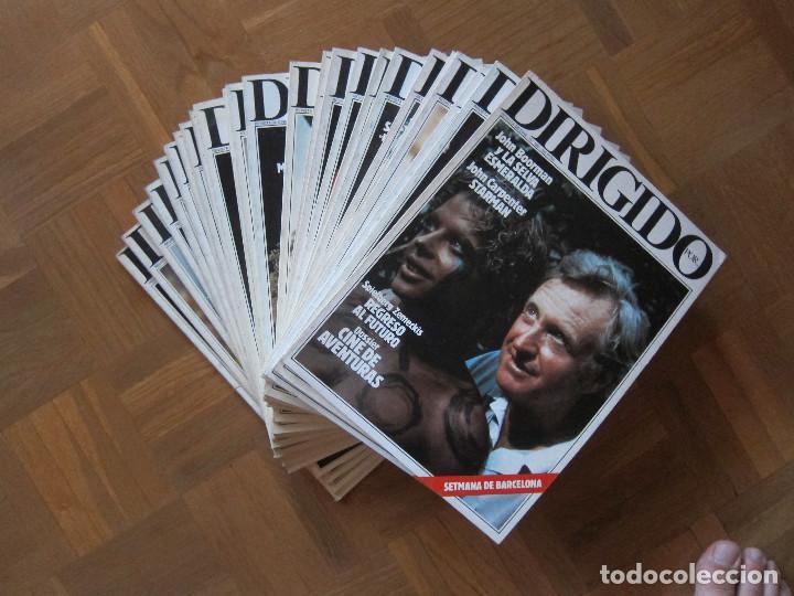 Cine: PACK DE 25 REVISTAS DIRIGIDO POR... (1984 - 1987) NO CORRELATIVAS - Foto 2 - 210062448