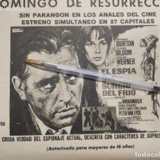 Cine: EL ESPIA QUE SURGIO DEL FRIO RICHARD BURTON CLAIRE BLOOM. Lote 210252575
