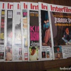 Cine: INTERFILMS Nº 61-62-63-64-66-67-71 Y 72. Lote 210283565