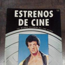 Cinema: ESTRENOS DE CINE. LAS MEJORES PELÍCULAS DEL CINE ACTUAL. SYLVESTER STALLONE. Lote 210285277