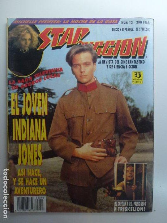 STAR FICCION. Nº 13. EL JOVEN INDIANA JONES. (Cine - Revistas - Star Ficcion)
