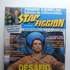 Cine: STAR FICCION. Nº 1. DESAFÍO TOTAL. GREMLINS 2. REGRESO AL FUTURO III.. Lote 210337968