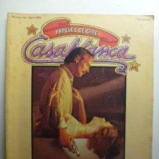 Cine: PAPELES DE CINE CASABLANCA. Nº 16. ABRIL 1982.. Lote 210338633