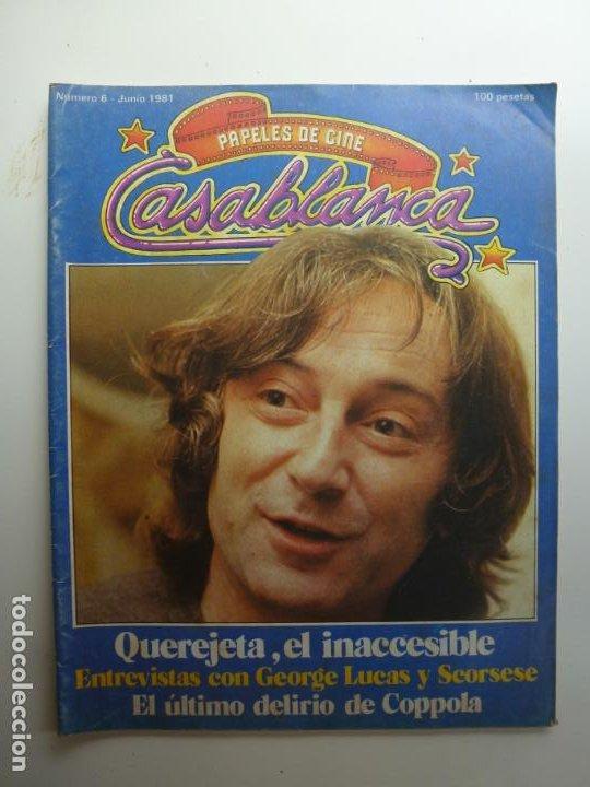 PAPELES DE CINE CASABLANCA. Nº 6. JUNIO 1981. (Cine - Revistas - Papeles de cine)