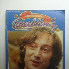 Cine: PAPELES DE CINE CASABLANCA. Nº 6. JUNIO 1981.. Lote 210339115