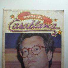 Cine: PAPELES DE CINE CASABLANCA. Nº 5. MAYO 1981.. Lote 210339276