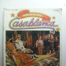 Cine: PAPELES DE CINE CASABLANCA. Nº 4. ABRIL 1981.. Lote 210339342