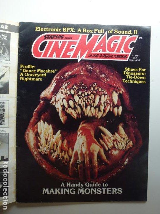 CINEMAGIC. Nº 18. ESTÁ EN INGLÉS. (Cine - Revistas - Otros)