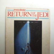 Cine: STAR WARS. RETURN OF THE JEDI. OFFICIAL COLLECTORS EDITION. 1983. ESTÁ EN INGLÉS.. Lote 210339851
