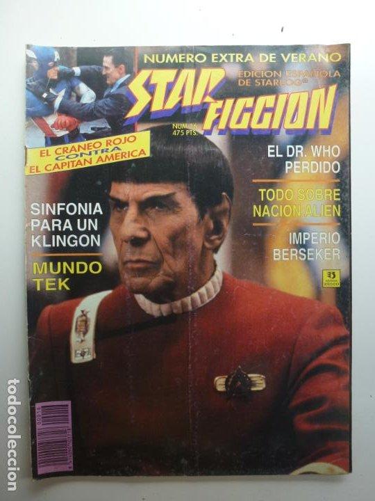 STAR FICCION. Nº 16. EXTRA DE VERANO. (Cine - Revistas - Star Ficcion)