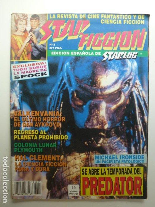 STAR FICCION. Nº 3. PREDATOR. (Cine - Revistas - Star Ficcion)