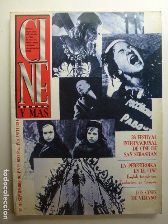 CINE Y MÁS. Nº 70. SEPTIEMBRE. (Cine - Revistas - Otros)