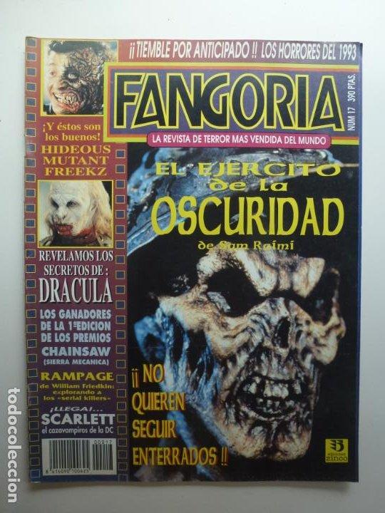 FANGORIA Nº 17. EL EJÉRCITO DE LA OSCURIDAD. (Cine - Revistas - Fangoria)