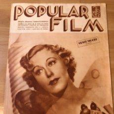 Cinéma: REVISTA POPULAR FILM AGOST 1935 GRACE MOORE JOAN CRAWFORD EMIL JANNINGS FRANKENSTEIN BORIS KARLOFF. Lote 210345462