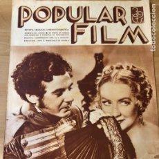 Cinéma: REVISTA POPULAR FILM AGOST 1935.MIRIAM HOPKINS.LAS CRUZADAS CECIL B DE MILLE.FAY WRAY.PABST.. Lote 210346147