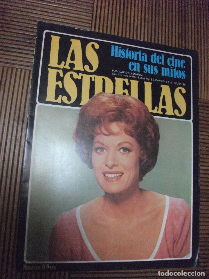 LAS ESTRELLAS, HISTORIA DEL CINE EN SUS MITOS, FASCICULO 98 (Cine - Revistas - Otros)