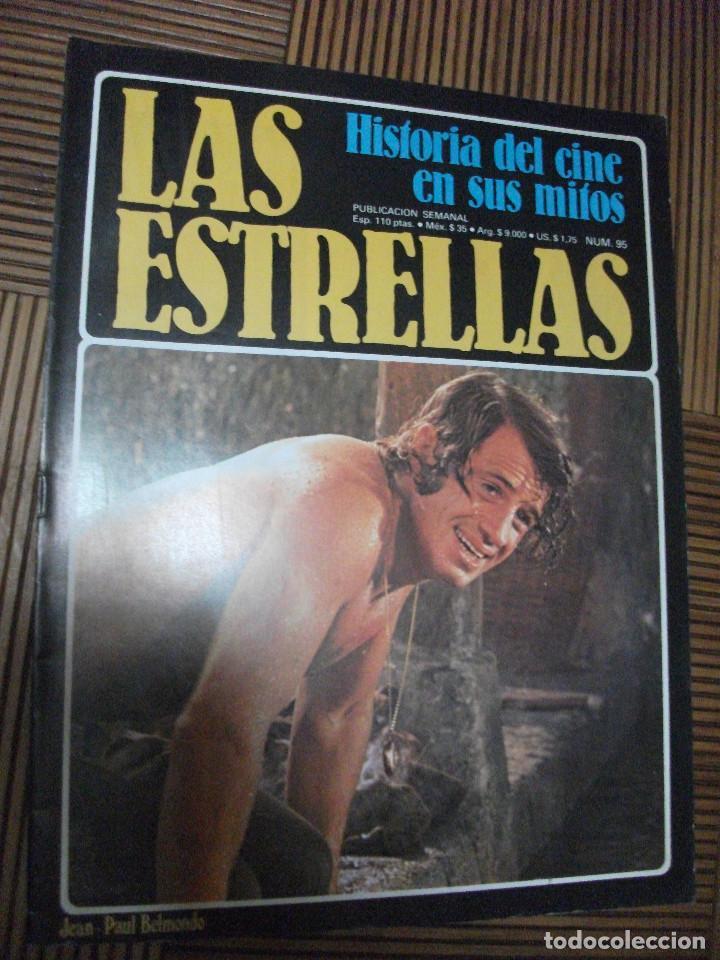 LAS ESTRELLAS, HISTORIA DEL CINE EN SUS MITOS, FASCICULO 95 (Cine - Revistas - Otros)