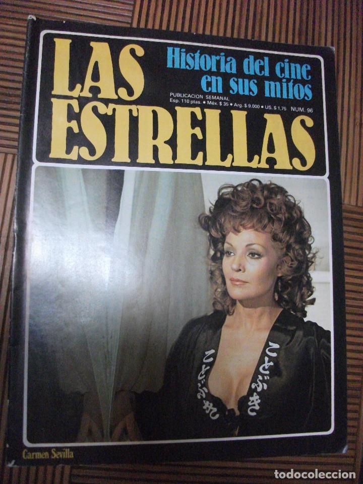 LAS ESTRELLAS, HISTORIA DEL CINE EN SUS MITOS, FASCICULO 96 (Cine - Revistas - Otros)
