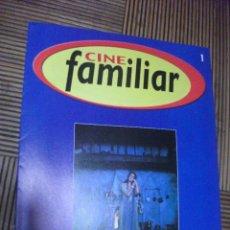 Cine: CINE FAMILIAR, FASCICULO Nº 1. Lote 210354927