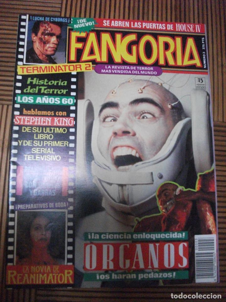 FANGORIA, Nº 3 (Cine - Revistas - Fangoria)