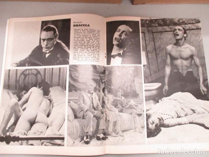 Cine: FILMS AND FILMING - 3 REVISTAS FEBRERO / MAYO Y JUNIO 1974 - INCLUYE DRACULA WARHOL - Foto 3 - 210367160