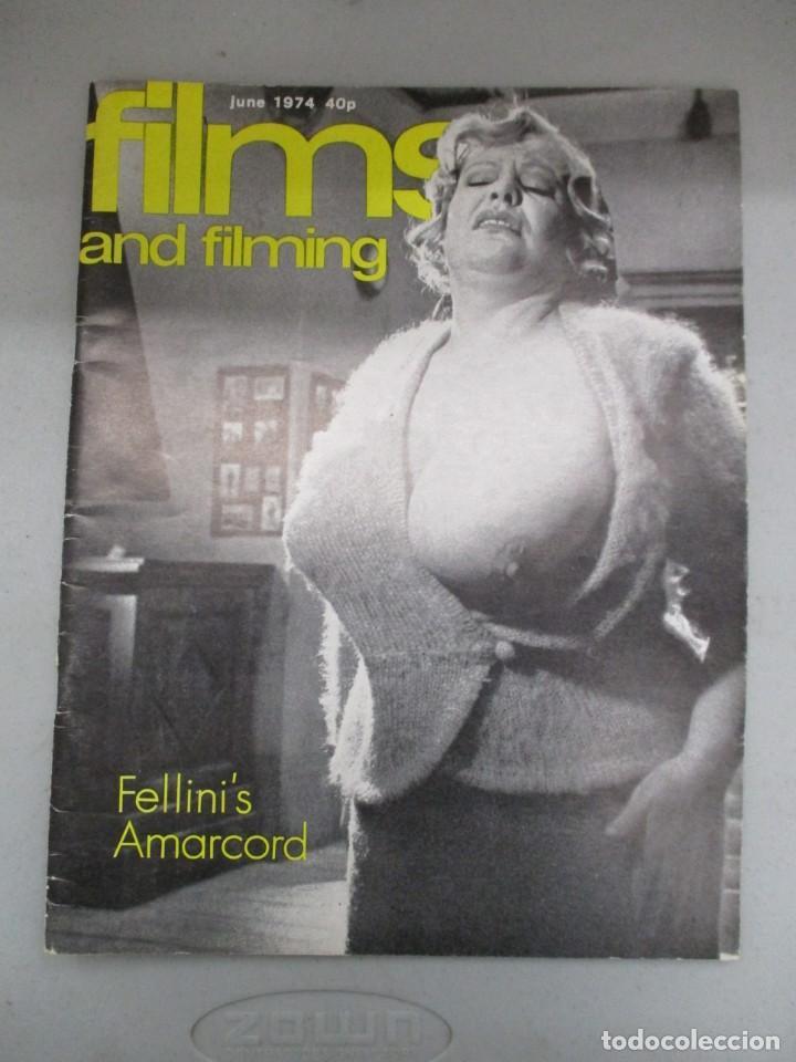 Cine: FILMS AND FILMING - 3 REVISTAS FEBRERO / MAYO Y JUNIO 1974 - INCLUYE DRACULA WARHOL - Foto 5 - 210367160