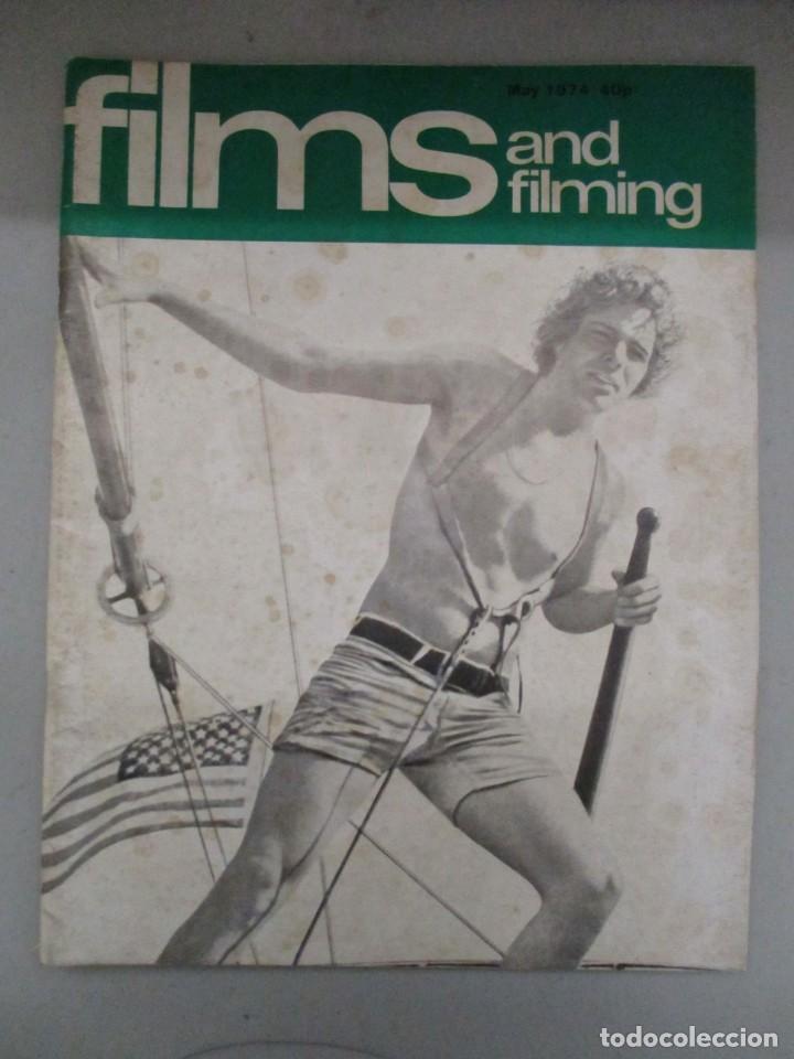 Cine: FILMS AND FILMING - 3 REVISTAS FEBRERO / MAYO Y JUNIO 1974 - INCLUYE DRACULA WARHOL - Foto 6 - 210367160