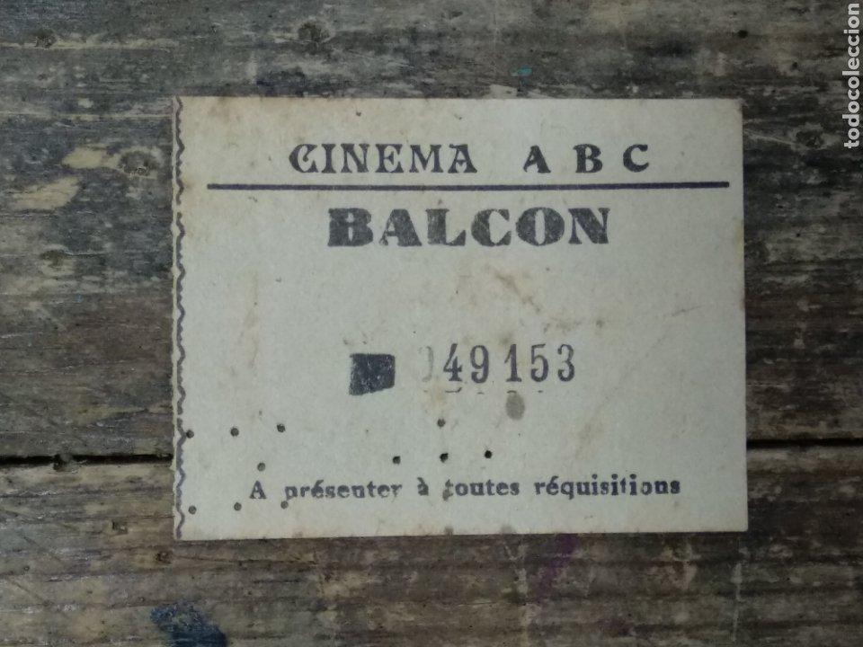 ENTRADA CINEMA ABC (Cine - Reproducciones de carteles, folletos...)