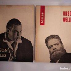 Cine: REVISTA TEMAS DE CINE. ORSON WELLES I Y II. Lote 210396098