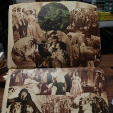 Cinema: FILMS SELECTOS 1936. DESPLEGABLE EL CAPITÁN BLOOD CON ERROL FLYNN. Lote 210413530