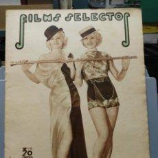 Cine: FILMS SELECTOS. Nº 257. 21/09/1935.. Lote 210415073