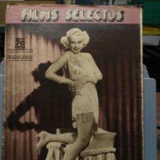 Cine: FILMS SELECTOS. Nº 244. 22/06/1935. Lote 210415223