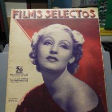 Cine: FILMS SELECTOS. Nº 229. 09/03/1935. Lote 210415526
