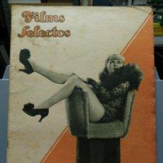 Cine: FILMS SELECTOS. Nº 227. 23/02/1935.. Lote 210415723