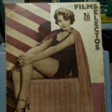 Cine: FILMS SELECTOS. Nº 226. 16/02/1935.. Lote 210415763