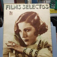 Cine: FILMS SELECTOS. Nº 223. 26/01/1935. ROSITA DÍAZ GIMENO EN LA DOLOROSA. Lote 210415857