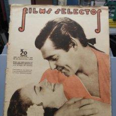 Cine: FILMS SELECTOS. Nº 284. 28/03/1936. CLARK GABLE EN REBELIÓN A BORDO. Lote 210416048